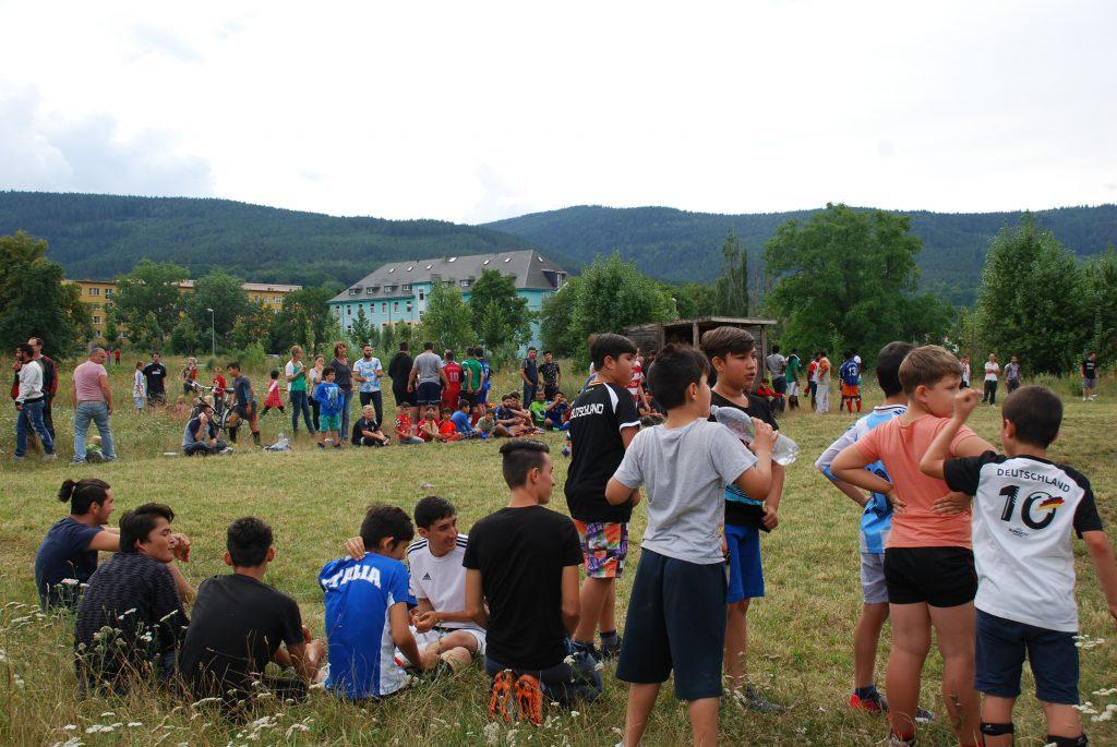 Fußballturnier Sportplatz